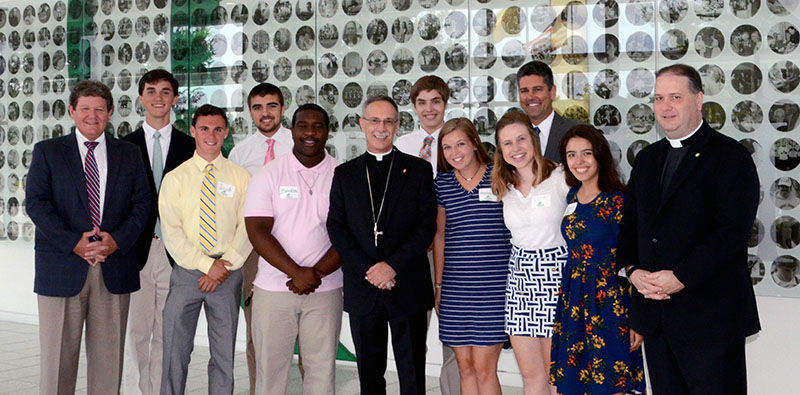 Bishop Zarama Visits Gibbons