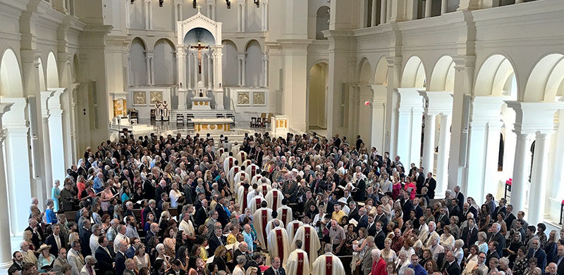 Faithful Gather for Cathedral Dedication